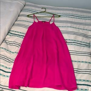 Vince Camuto Hot Pink Shift Dress Size M